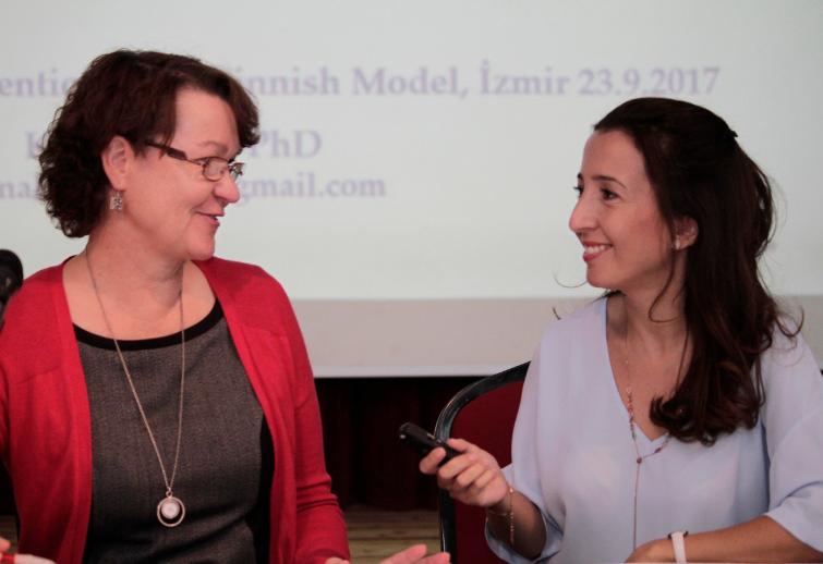 Dr. Anna-Kaisa Pudas & Gamze Er - Eğitimci Röportajı